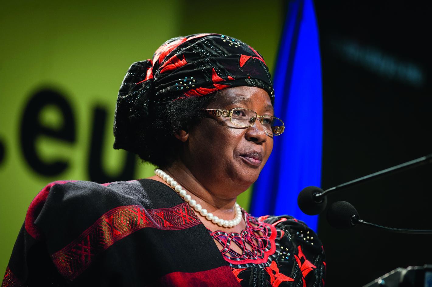 Joyce Banda, President of Malawi