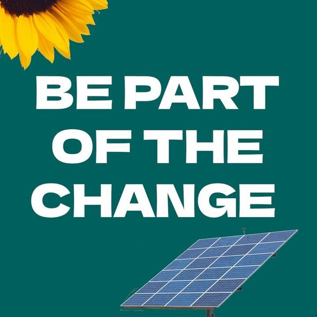 Be part of the change