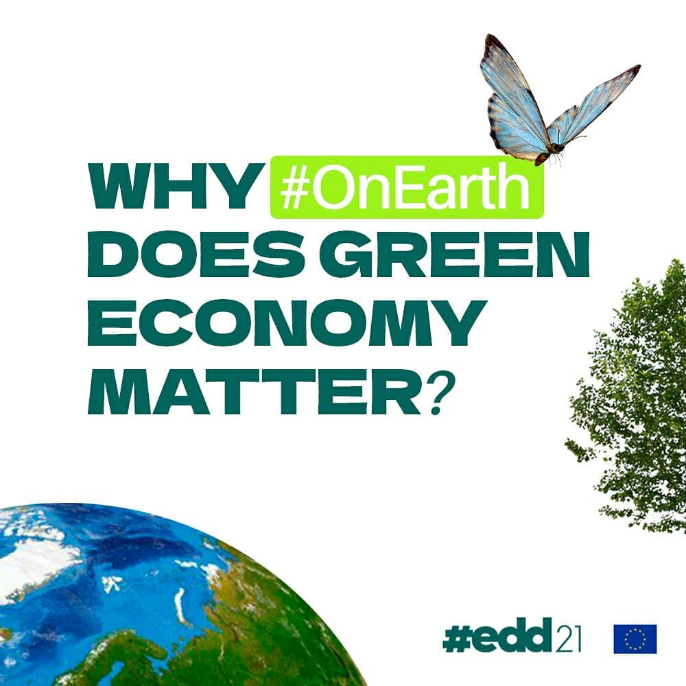 Why #OnEarth does green economy matter?